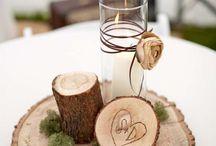 Centrotavola legno