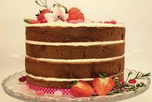Eigen baksels / Zelf gebakken taarten, koekjes en cakejes