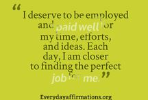 affirmations for job