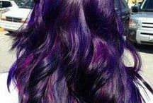 violette Haare