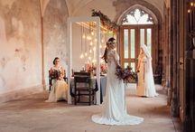 Modern Viking Wedding Inspiration / Modern Viking Wedding Inspiration