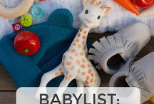 Baby Registry Ideas / by Amanda Slayton