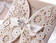 Beautiful wedding invitations / by Martha Wango