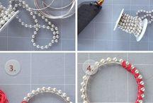 Knitting/crochet jewelery