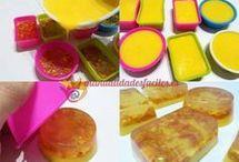 naranja y glicerina