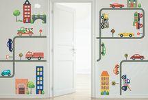 τοιχος παιδικου δωματιου