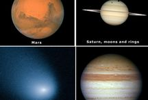 Planets, Stars & Moons