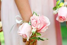 bracelets de fleurs