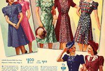 Vintage garment color--photos / Color photographs showing the colors, patterns, & details in vintage garments. / by Tea Mama