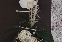 Orchideen dekorieren