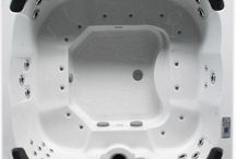 Apollo 7 Seater Luxury Hot Tub Spa By Zspas  / 2200 x 2200 x 950mm hot tub spa with complete audio sysyem, secure insulation, stainless steel trims & free wooden steps & spa cover with each order