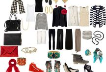 What to Pack to go anywhere!  Perfect Travel Wardrobe!!! / by Penelope Bianchi