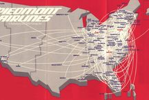 Vintage air route maps