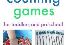 Zählen lernen Kinderspiel