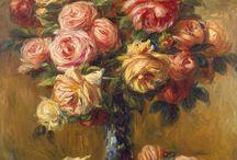 Art paintings of Flowers / by Melanie Risi