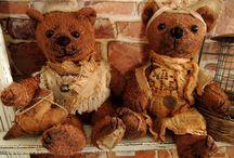 VINTAGE  TEDDY  BEAR