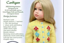 dolls knitwear patterns and complete