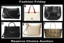 Fashion Friday at OneCentChic 8-15-14 / Designer Choice Auction for Chic Handbags tonight  10 PM at OneCentChic.com