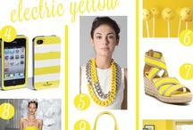 Electric Yellow / by Eat Breathe Live Color | Zoe