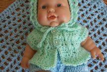 CROCHET/KNIT : dolls clothes
