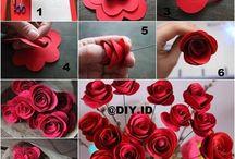 Rose paper