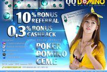 www.QQDomino.com / http://www.qqdomino.com/ref.php?ref=GLOBALQQ | dapatkan bonus deposit 10% Hanya untuk NewMember