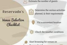 Reservado- Event/Venue booking Ideas