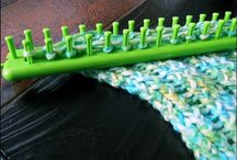Knitting - well sort of- / Using Knifty Knitter looms to try some new things / by Lisa Paddy