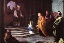 Maria en el templo