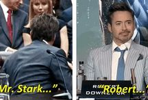 Iron Man/ Robert Downey Jr. / I absolutely love Robert Downey jr. I love Iron Man. RDJ Is the perfect iron man he is Tony Stark. This board will be mostly iron man all  Robert Downey jr. Regardless of topic since I love him so much. / by Lauren Stern