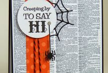 Stampin' Up! - Halloween cards