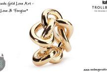 Trollbeads Gold Love Art