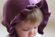 Darling hats for baby