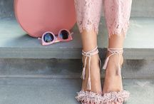 Pretty Shoes / A collection of pretty shoes in the most gorgeous hues.