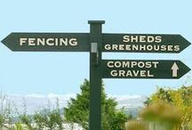 Garden Centre Signage