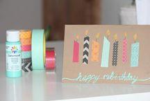 Carte/cadeaux DIY