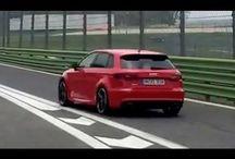 Audi RS 3 vallelunga / New Audi RS 3 testet @ Vallelunga Circuit