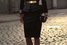Dresses:  classic