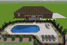 Pool & Porch / Work in progress! / by Mary Grace Phillips