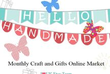 Hello Handmade UK Market / Amazing online marketplace for Handmade Artisans & Clever Crafters - We meet once a month on FB - Check out our Fantastic offers