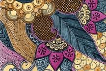 Mandala, Zentangle e Doodles