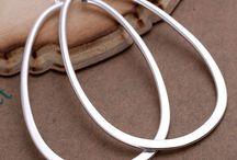 Boucles d'oreilles plaqué argent