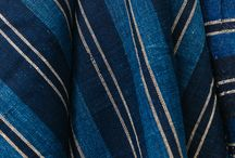 blue fabric patterns