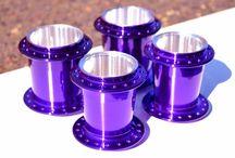Candy Purple Powder Coating Paint / Candy Purple Powder Coat