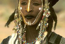 Western Africa / Traditional costume from : Western Sahara, Mauritania, Senegal, Guinea-Bissau, Sierra Leone, Liberia,Ivory Coast, Burkina Faso, Ghana, Togo & Mali