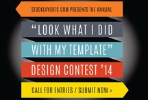 """2014 """"Look What I Did With My Template"""" Contest / User submissions from our 2014 design contest!"""