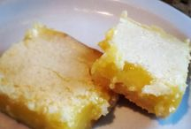 Desserts / Lemon bars