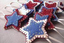 Estrelas de Feltro / Ideias para fazer-brincar a partir dos nossos kits com estrelas de feltro!  http://www.elo7.com.br/fio-de-estrelas-kit-para-brincar/dp/2F3039