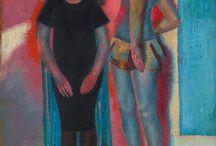 """Ausstellung """"Reinhold Ewald 1890-1974"""" (13.9.2015 bis 24.1.2016) / Anlässlich seines 125. Geburtstages wird Reinhold Ewald (1890–1974) mit zwei Ausstellungen gewürdigt. Das MUSEUM GIERSCH der GOETHE-UNIVERSITÄT in Frankfurt am Main widmet sich vom 13. September 2015 bis 24. Januar 2016 Ewalds Verbindungen zur Mainmetropole, das HISTORISCHE MUSEUM HANAU SCHLOSS PHILIPPSRUHE präsentiert Ewalds Künstlerleben in seiner Heimatstadt."""