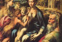 Parmigianino / Storia dell'Arte Pittura  16° sec. Parmigianino, Francesco Mazzola detto il  1503-1540